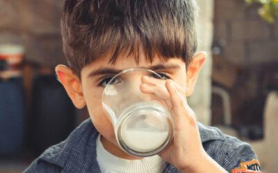 Mon enfant est allergique au lait de vache !